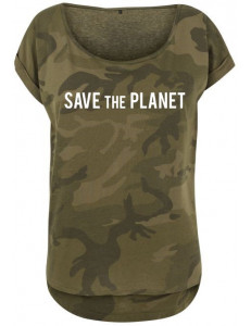 T-shirt damski moro SAVE THE PLANET