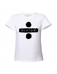T-shirt damski ED SHEERAN DIVIDE
