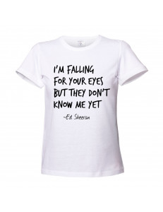 T-shirt damski ED SHEERAN - KISS ME
