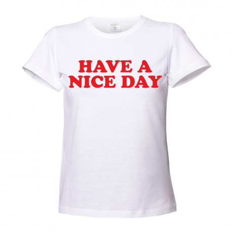T-shirt damski HAVE A NICE DAY