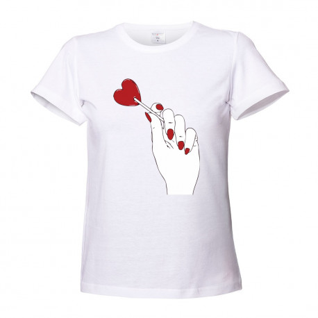T-shirt damski HANDS LOLLIPOP