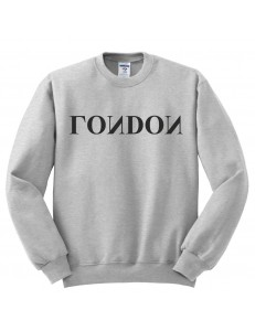 Bluza bez kaptura z nadrukiem LONDON