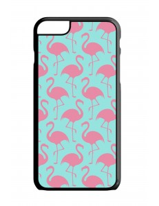 Etui na telefon TRANSPARENT FLAMINGO