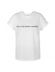 T-shirt oversize lol ur not shawn mendes