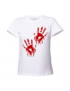 T-shirt damski HANDS BLOODY