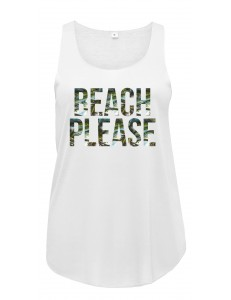 Bluzka tank top BEACH PLEASE