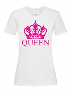T-shirt damski QUEEN KORONA
