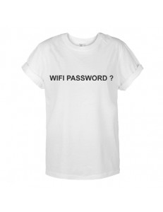 T-shirt oversize WIFI PASSWORD?