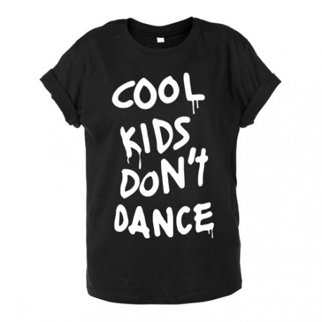 T-shirt unisex COOL KIDS DON'T DANCE