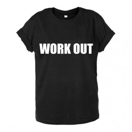 T-shirt unisex WORK OUT