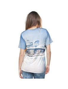 T-shirt fullprint BRIDGE