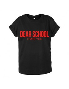T-shirt unisex DEAR SCHOOL