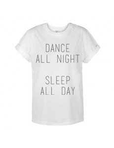 T-shirt unisex DANCE SLEEP