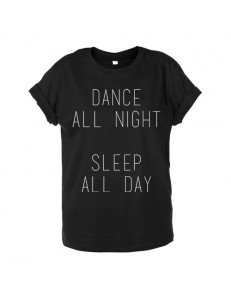 T-shirt oversize DANCE SLEEP