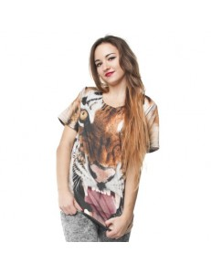 T-shirt fullprint TIGER
