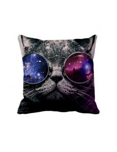 Poszewka fullprint GALAXY SUNGLASSES CAT