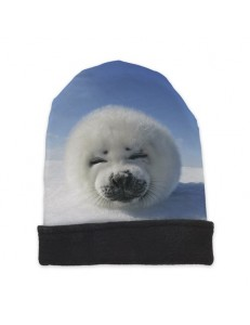Czapka beanie fullprint SEAL
