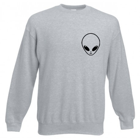 Bluza unisex LITTLE ALIEN