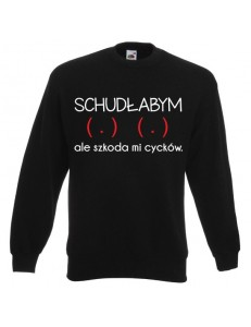 Bluza unisex SCHUDŁABYM