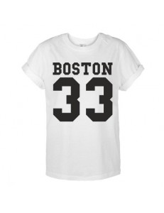 T-shirt oversize BOSTON 33