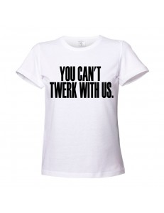 T-shirt damski TWERK WITH US