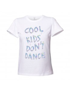 T-shirt damski COOL KIDS DON'T DANCE /holographic/