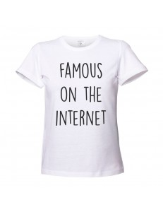 T-shirt damski famous on the internet