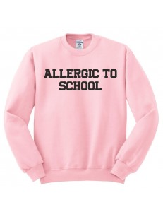 Bluza oversize ALLERGIC TO SCHOOL