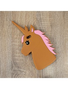 Etui na iPhone'a UNICORN /brown/