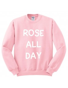 Bluza oversize ROSE ALL DAY