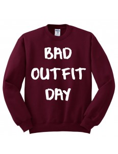 Bluza oversize BAD OUTFIT DAY