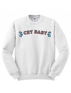 Bluza oversize CRYBABY COLOR