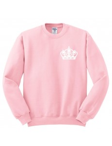 Bluza oversize CROWN QUEEN POCKET