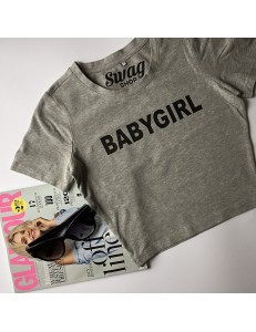 T-shirt crop slim BABYGIRL