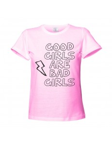 T-shirt damski GOOD GIRLS ARE BAD GIRLS